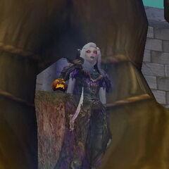 Темная Леди во время окончания Хэллоуина.