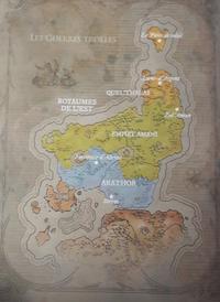 Carte - Chroniques 1 - Les Guerres trolles