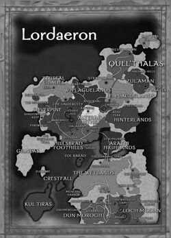 Lordaeron map