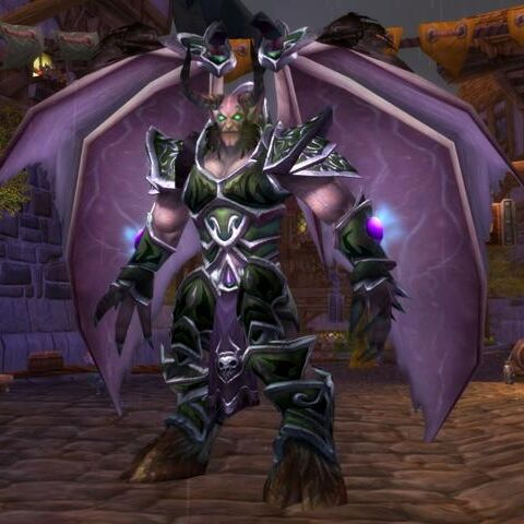 Mal'Ganis widoczny w World of Warcraft