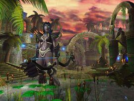 Warcraft III TFT Sentinals Night Elf Campaign