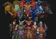 Wow the dragon aspects by ereptile-d4b9dj8