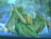 Ysera Emerald Dragonshrine