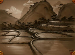 Valley of the Four Winds northern concept art