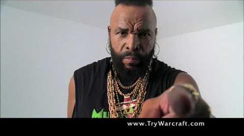 World of Warcraft Mr. T Commercial - Mohawk Grenade