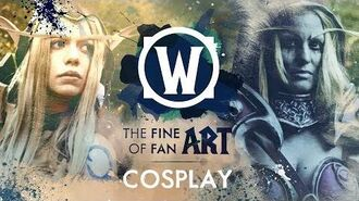 The Fine Art of Fan Art Fenvaria y Ewenae, cosplayers (subtítulos ES)