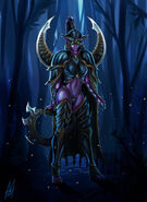 Maiev shadowsong by mauroillustrator-d58ny1d