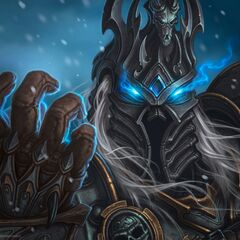 The Lich King in <i><a class=