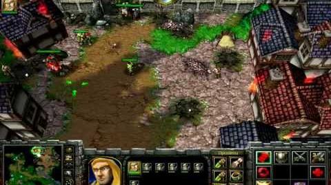 (03) Прохождение Warcraft 3 RoC - Оборона Странбарда