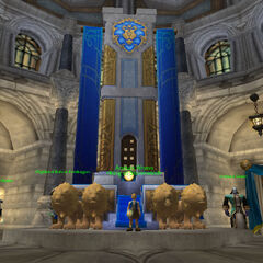 Prince Anduin in a previous build of WotLK.