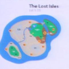 Początkowa koncepcja wysp.