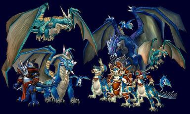 Blue Dragonflight