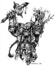Doomhammer Presents the Head of Blackhand