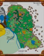 Foret de Jade concept map
