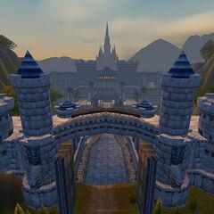 Вход в город <i>до Cataclysm</i>.