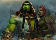 Thrall and Aggra Maelstrom