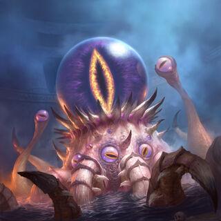 К'Тун, древний бог хаоса.