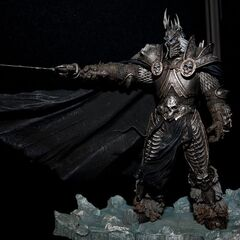 The Lich King Arthas action figure by DC Direct.