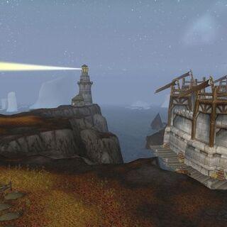 Снаружи крепости Альянса.