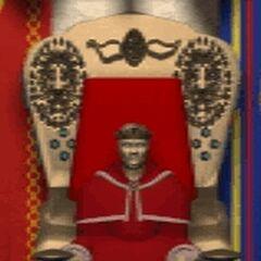 Теренас Менетил во время Второй войны.