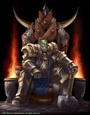 Thrall en el señor de los clanes