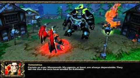 Warcraft III Cutscenes The Wreckage of Lordaeron