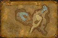 Caverne des Vexécailles map cata