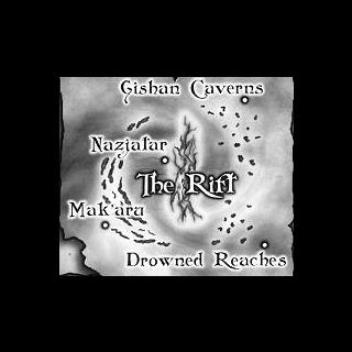 Mapa podwodnych krain Maelstromu.