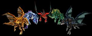 Warcraft III Drager