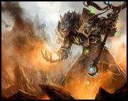 Pyromancer Davins