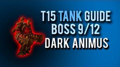 """Dark Animus"" TANK Guide → Boss 9 12 in Throne of Thunder"