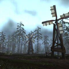 Ветряная мельница в Гилнеасе