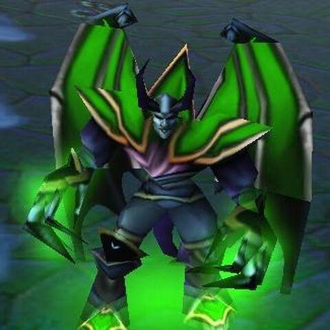 Mal'Ganis w Warcraft III