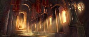 830px-Scarlet Monastery Halls