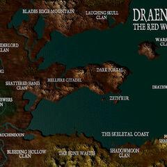 Дренор в Warcraft II в версии для PlayStation.