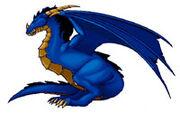 Dragon bleu WCA