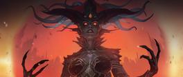 Azshara jako królowa Nag