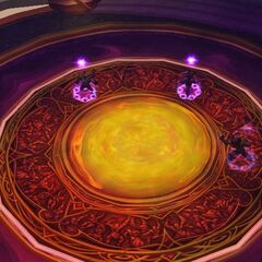 The Sunwell, as seen from the Scrying Orb in the <a class=