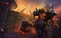 Garrosh Artwork officiel HOTS