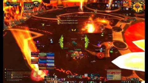 Ragnaros 10 Man Normal Firelands Guide - FATBOSS
