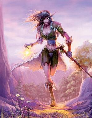 Elfe de la nuit Druidesse