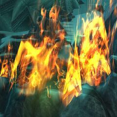 Taras Opuszczonych spalony przez smoki