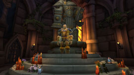 Uther's Tomb and Uther's spirit