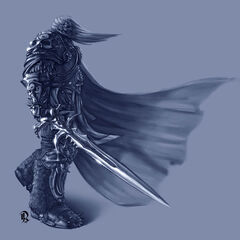 Артас-рыцарь смерти.