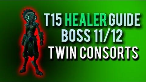 """Twin Consorts"" HEALER Guide → Boss 11 12 in Throne of Thunder"