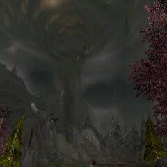 Sztorm w Darkshore