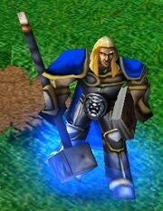 Arthas Hammer Warcraft III Model