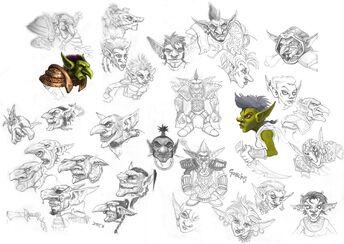 Goblins sketches