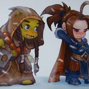 ЛКИ | World of Warcraft: История Азерота: Часть XIX - ЛЕГЕНДЫ И ... | 300x300