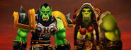 World of warcraft thrall guerrier chaman